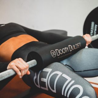 Booty Builder Barbell Pad for Hip Thrusts and Squats