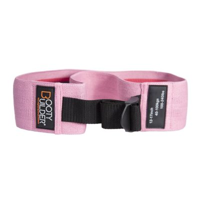 Booty Builder Adjustable Loop Band – Pink