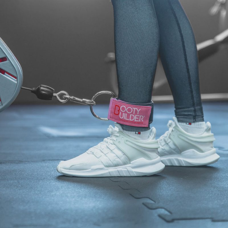 Booty Builder Ankle Strap - Pink
